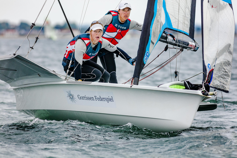Sejlerlandsholdet klar til kamp for Danmark under EM